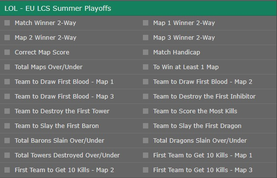 bet365 lcs summer playoffs 2017