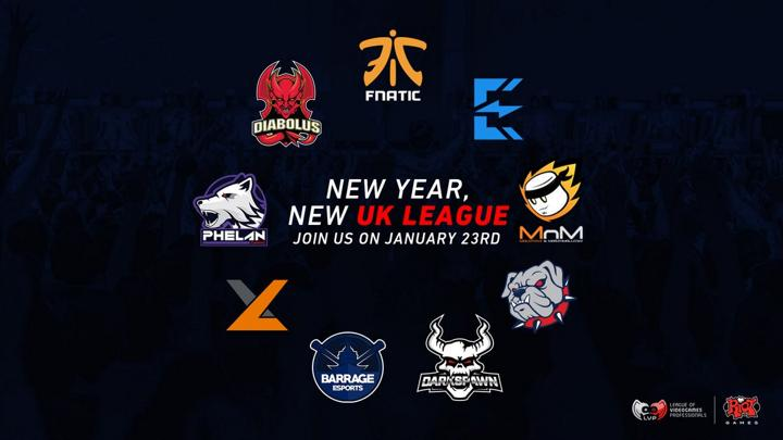 LVP UK Teams Confirmed